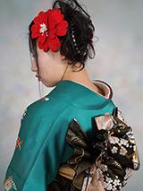 振袖の着付け2012年-4