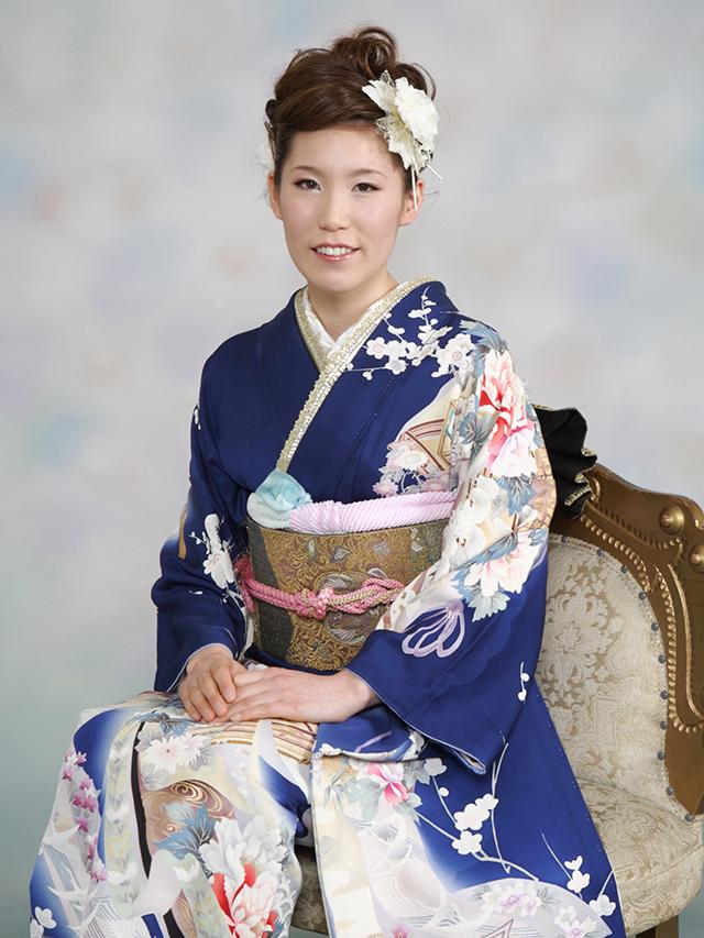 振袖の着付け2012年 拡大画像-10