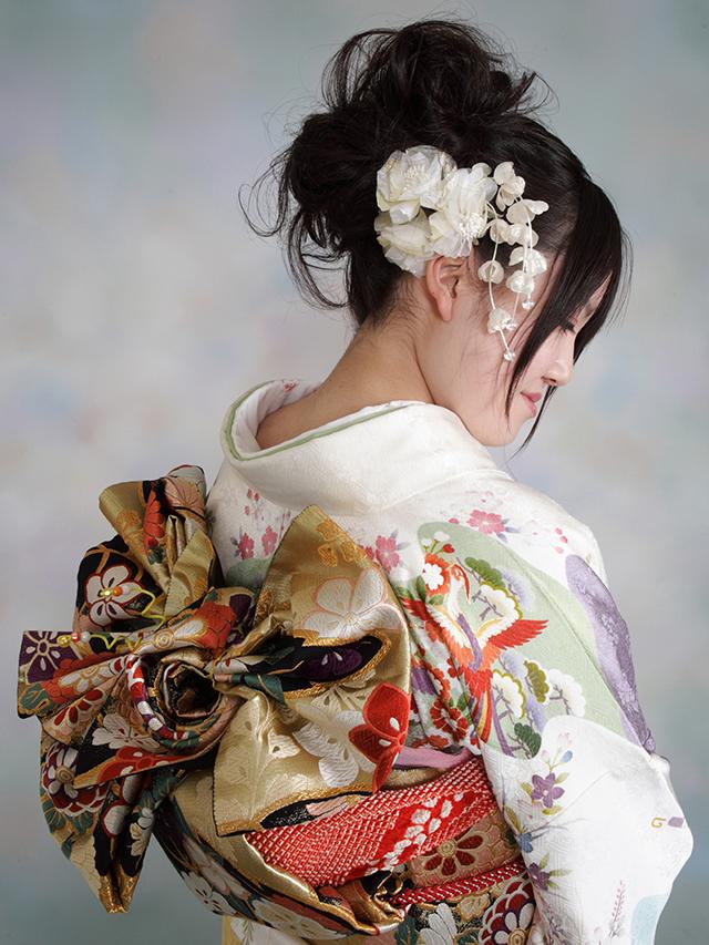 振袖の着付け2012年 拡大画像-14
