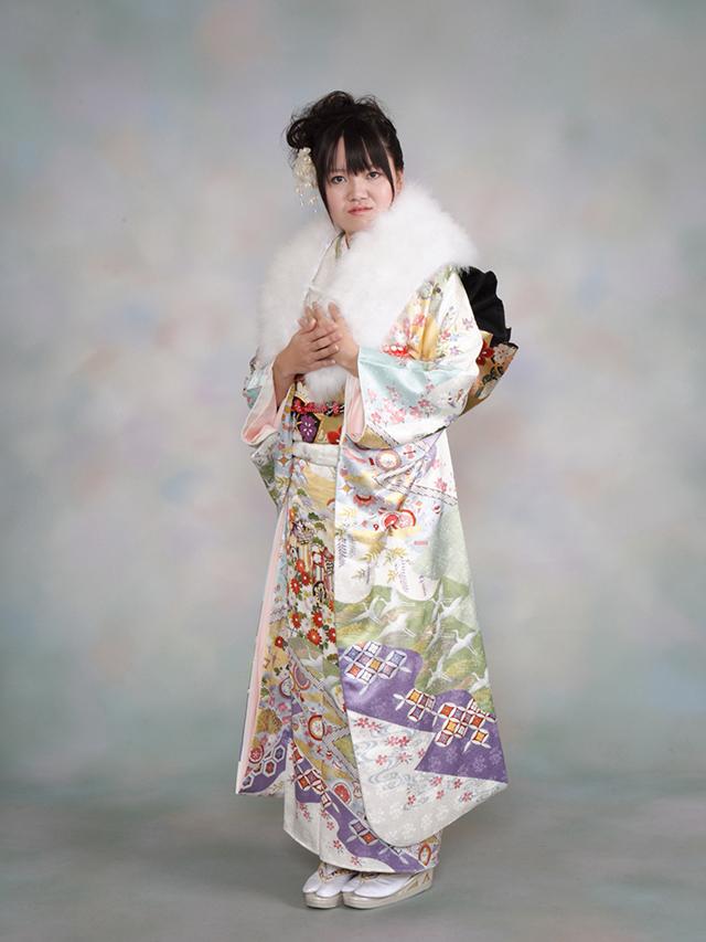 振袖の着付け2012年 拡大画像-15