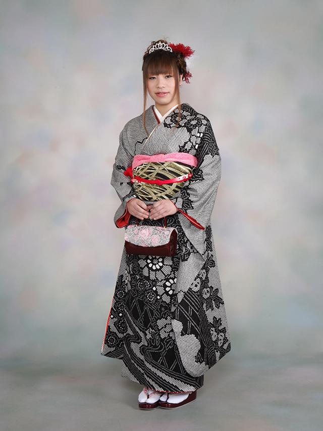 振袖の着付け2012年 拡大画像-16