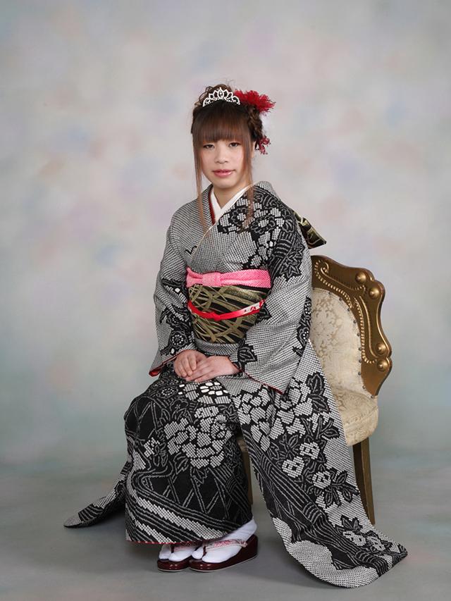 振袖の着付け2012年 拡大画像-17
