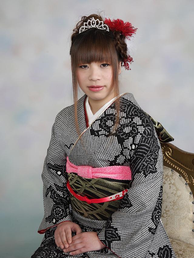 振袖の着付け2012年 拡大画像-20