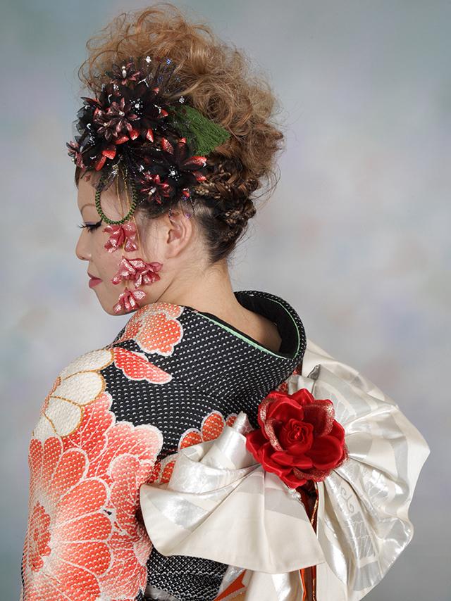 振袖の着付け2012年 拡大画像-22