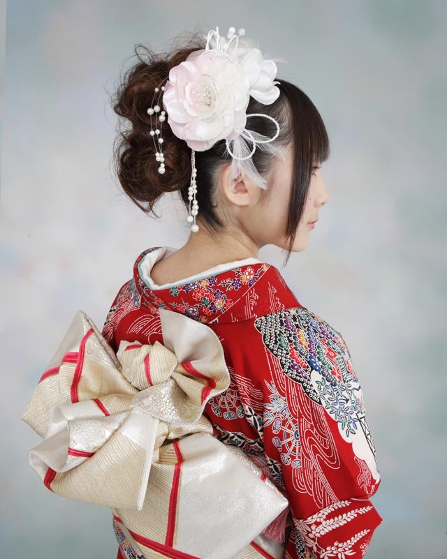 振袖の着付け2011年 拡大画像-6