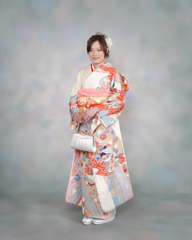 振袖の着付け2011年 拡大画像-9