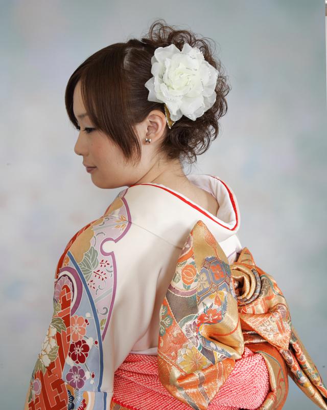 振袖の着付け2011年 拡大画像-10