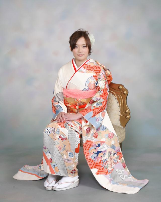 振袖の着付け2011年 拡大画像-11