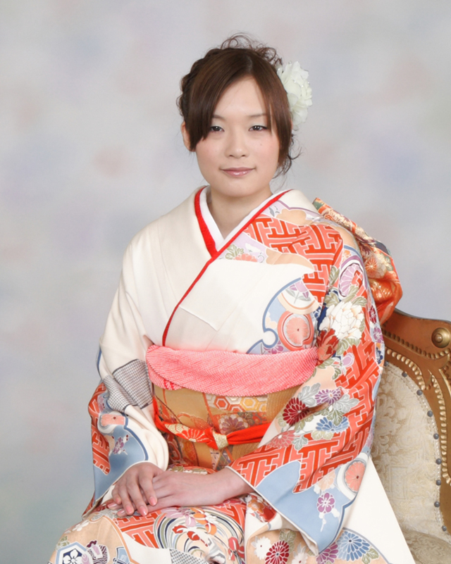 振袖の着付け2011年 拡大画像-12