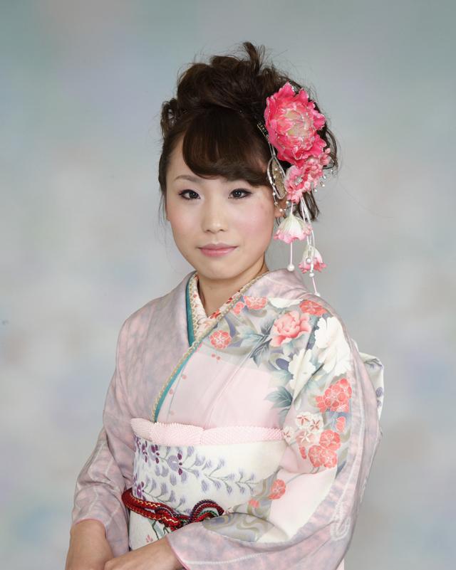 振袖の着付け2011年 拡大画像-14